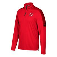 New Jersey Devils NHL Adidas Men's Center Ice Red Authentic Pro Jacket