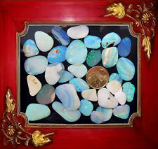 Tumbled Natural Australian Crystal Opal Parcel 05 21 07 21