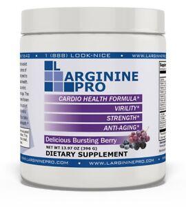 L-arginine Pro #1 Supplement 5500mg L-arginine Plus 1100mg L-citrulline Berry