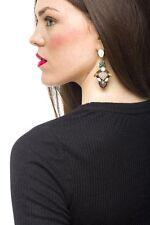 Earrings Women Ear Stud Fashion Spring Earrings Art Deco Multi Jewel Drop Gift