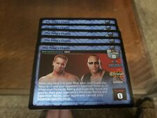 WWE Raw Deal CCG The Rock Christian The Peep's Champ !! FREE SHIPPING !!