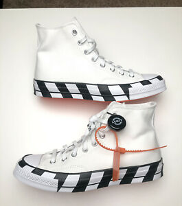 100% Authentic Off White x Converse Chuck Taylor All Star '70s Men's Size 9.5