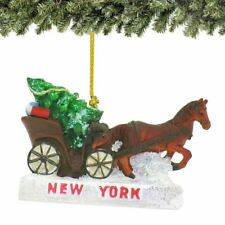 Central Park Carriage Ornament