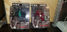 Minty! Public Enemy 2 Figures Mezco Flava Flav & Chuck D w/Original Shipping Bag