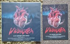 The Wildhearts 21St Century Love Songs Clockwork Orange Vinyl Signed Print