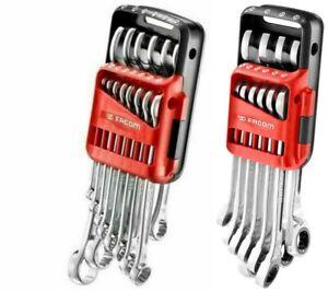 Facom 440.JP14 7-24mm Spanner Set & 467B.JP10 8-19mm Ratchet Spanner Set