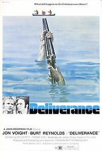 Deliverance 1972 Retro Movie Poster A0-A1-A2-A3-A4-A5-A6-MAXI 241