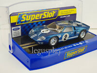 Slot Car Scalextric Superslot H3916 Ford GT40 MKII 1967 12 Horas Sebring #2