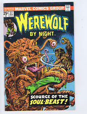 Werewolf by Night #27 Marvel 1973 The Amazing Doctor Glitternight