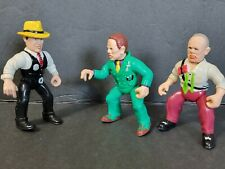 """Vtg 90's Playmates Disney Dick Tracy Figures Lot Of 3 Pre-Owned""""Free Shipping"""""""
