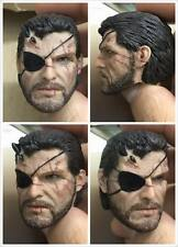 "1/6 METAL GEAR The Phantom Pain Snake Bigboss Head Sculpt For 12"" hottoys Body"