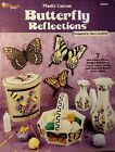 Plastic Canvas Pattern Booklet~7 Projects~Vase~Basket~Air Freshener Cover~2000