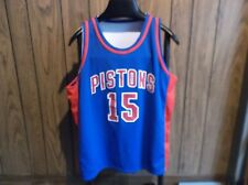 Viinie Johnson T. Prince jersey Detroit Pistons reversable 50th Anniversary lrg