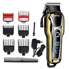 Barber Hair Clipper Professional Trimmer Cordless Men Beard Electric Cutter Kit