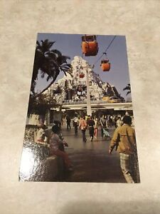 DisneyLand Vintage Postcard Matterhorn Mountain