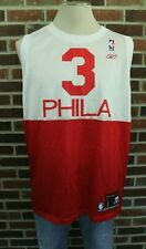 Reebok Allen Iverson #3 Phila Philadelphia 76ers NBA Jersey Men's Sz L
