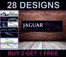 Jaguar Racing Banner per Officina, Garage, Men Cave Retro Meccanico Poster Nuovo