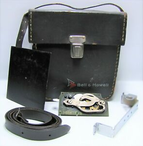 Vintage Bell & Howell Camera Case & Misc. Accessories