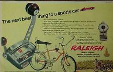 1968 Raleigh Fireball Twinshift 5 Kids Bicycles~Bikes Boys KidsToy Promo Art Ad