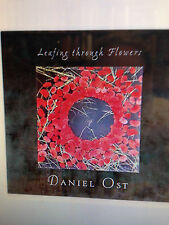 SIGNED LIMITED one of 500 Daniel Ost. LEAFING THROUGH FLOWER as new shrinkwrap