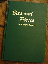 Bits and Pieces Manney 1970 Texas Memoir Christian Theme Free US Shipping Rare