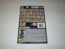 Gi Joe Vintage 1987 IRON GRENADIERS UNCUT FULL FILE CARD