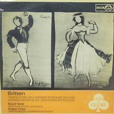 Britten(Vinyl LP)Variations On A Theme Of Frank Bridge-Decca (Ace Of Clubs)-ACL
