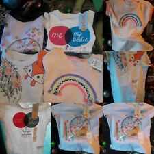 Cat & Jack Girls 4 blouse Size XS, 4-6 .(  pieces.*:)♡♡♡♡