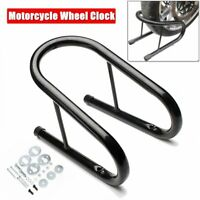 5.5'' Motorcycle Wheel Chock Stand Kit Scooter Bike Stand Trailer Truck Mount