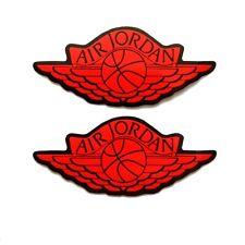 2pcs Sports Jumpman Air Wings Hypebeast Supreme Logo Sticker