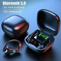 Wireless Bluetooth 5.0 Earbuds TWS MD03 Waterproof Headset Headphone Stereo T7O3