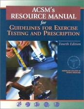 ACSM's Resource Manual for Guidelines for Exercise Testing and Prescription (Boo
