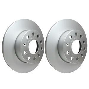 Rear Brake Discs 256mm Audi A3 VW Golf Skoda Octavia 1K0615601AC 1K0615601L