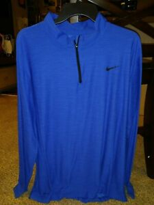 Nike Dri Fit 1/4 Zip Golf Pullover