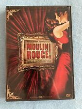 Moulin Rouge Widescreen Edition Pre-Owned Dvd with Nicole Kidman & Ewan McGregor