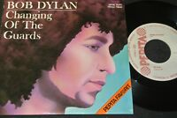 BOB DYLAN Changing Of The Guards & New Pony/ Hungarian SP 1978 PEPITA SPSK 70357