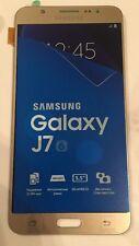 Genuine Gold Samsung 2016 SM-J710F SM-J710FN J710H Galaxy J7 Screen Amoled LCD