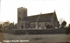 Honington near Ixworth & Thetford. Church & Schools.