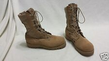 Wellco Hot Weather military boots~Size 5.5~Tan~W 245 90 6128792~Hardly worn  EUC