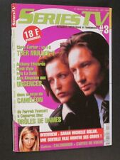 SERIES TV N° 3 DEC 2000 X FILES URGENCES CAMALEON BUFFY + POSTERS NEUF