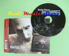 CD singolo MARILYN MANSON the fight song 2001 eu 497 486-2 NOTHING RECORD (S17)