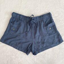 Jack by BB Dakota - Mosby Drawstring Shorts, Blue, Womens Size Small, NWT
