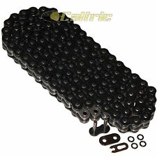 520 x 120 Links Motorcycle ATV BLACK O-Ring Drive Chain 520-Pitch 120-Links