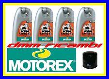 Kit Tagliando DUCATI 1098 07>08 R S + Filtro Olio MOTOREX RACING 20W60 2007 2008