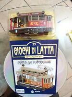 GIOCO IN LATTA tram di San francisco Anni60  Made in Japan da collezione+Rivista