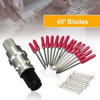 15X 45° Schneideplotter Plottermesser + CB09 Messerhalter Set für Plotter Helo