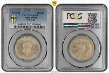 1944(b) India British One Rupee PCGS AU58 Beautiful Must Have Coin Toned