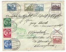 1933 Zeppelinpost LZ 127 Postbeförderung am 01.05.1933 Friedrichshafen!