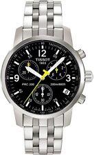 TISSOT T-Sport PRC 200 T17.1.586.52 BLACK Wristwatch T461 Chronograph Men's