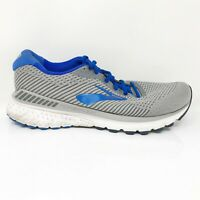 Brooks Mens Adrenaline GTS 20 1103072E051 Gray Blue Running Shoes Size 8.5 2E